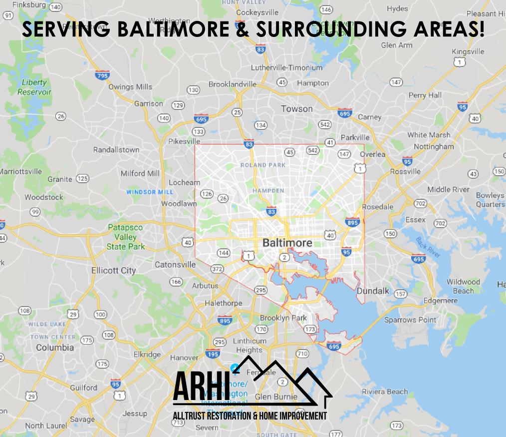 ARHI Baltimore Service Area